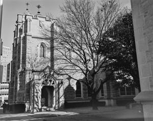 Primary view of object titled '[Saint Andrews Episcopal Church, (Oblique)]'.