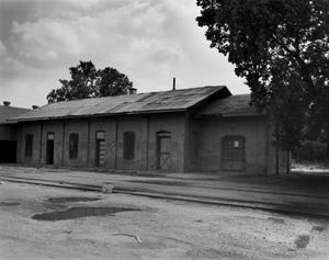 Primary view of object titled '[Houston and Texas Central Depot]'.