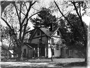 Primary view of object titled '[O'Brien Wilson house, (Southwest oblique)]'.