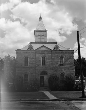 Primary view of object titled '[Somervell County Courthouse]'.