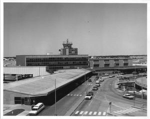 Primary view of object titled 'Exterior of Airport'.