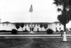 Primary view of object titled '[Naval Air Station Building 39 - Training Air Wing]'.