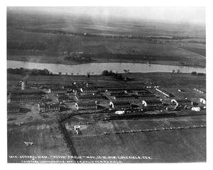 Primary view of object titled 'Aerial View of Airport'.