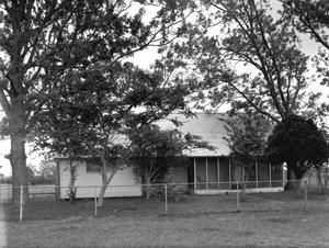 Primary view of object titled '[Jackson House, (West facade)]'.