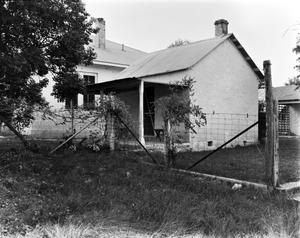 Primary view of object titled '[Badenthal, (East oblique of circa 1870 Stone House.)]'.