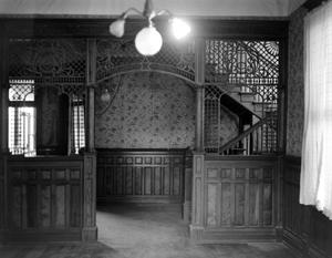 Primary view of object titled '[Sledge-Lockett House, (Interior)]'.