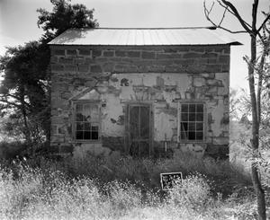 Primary view of object titled '[H.C. Plueneke House, (West elevation)]'.