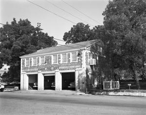 Primary view of object titled '[Mason Firehouse, (Northwest)]'.