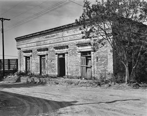 Primary view of object titled '[Nestor Saenz Building, (East elevation)]'.