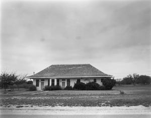 Primary view of object titled '[Rochelle Depot, (Northwest)]'.