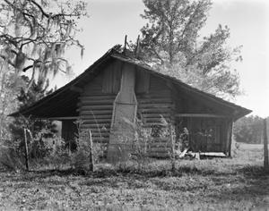 Primary view of object titled '[West Log House]'.
