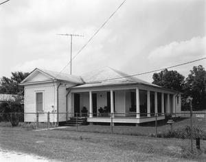 Primary view of object titled '[Hilliard House, (Southeast oblique)]'.