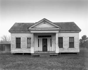 Primary view of object titled '[Arnold Simonton House, (North elevation)]'.