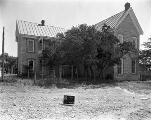 Primary view of object titled '[Block House Ranch, (Southwest oblique)]'.