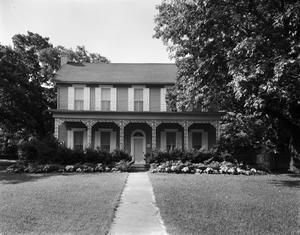 Primary view of object titled '[J.M. Early House, (North (front))]'.