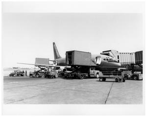 Primary view of object titled '[Love Field : Southwest Airlines Aircraft]'.