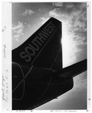Primary view of object titled '[Love Field : Southwest Airlines Aircraft Tail Fin]'.