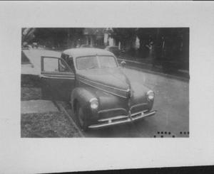 Primary view of object titled '[1941 Studebaker car]'.