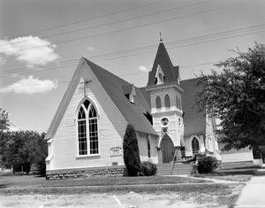 Primary view of object titled '[Central Christian Church]'.
