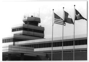 [Love Field Airport Exterior and Flags]