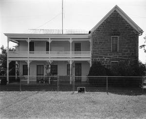 Primary view of object titled '[Evers House, (East elevation)]'.