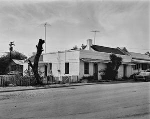 Primary view of object titled '[Judge J.R. Monroe House, (Southeast oblique)]'.