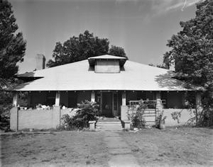 Primary view of object titled '[Wilhelm House (Todd-Carlisle), (East elevation)]'.