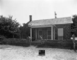 Primary view of object titled '[Bierschwale Home, (West elevation)]'.