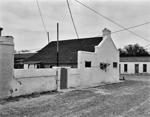 Primary view of object titled '[Juan Gonzalez House, (Southeast oblique)]'.