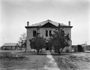 Primary view of object titled '[Old Reagan County Courthouse]'.