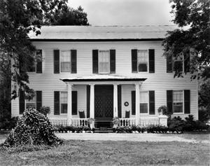 Primary view of object titled '[Griffith House, (West elevation)]'.