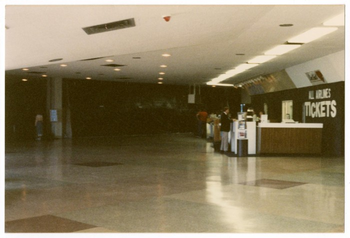 Primary View Of Object Titled U0027[Dallas Love Field Airport : Interior  Renovations]u0027