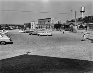 Primary view of object titled '[Plaza, (From the East)]'.