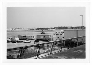Primary view of object titled '[Dallas Love Field Airport : View of Construction Site]'.