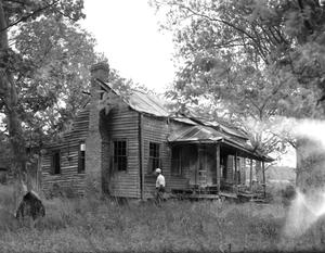 Primary view of object titled '[Tom Smith House, (Southwest oblique)]'.