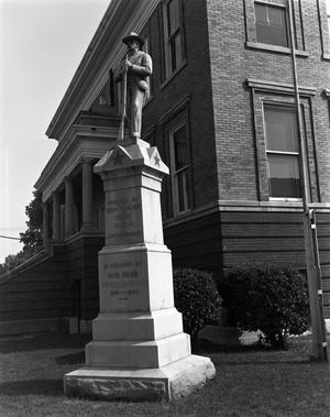 Primary view of object titled '[Marion County Courthouse and Annex]'.