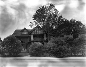 Primary view of object titled '[A.C. Schreiner House, (Front elevation)]'.
