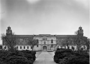 Primary view of object titled '[Administration Building, (North facade)]'.