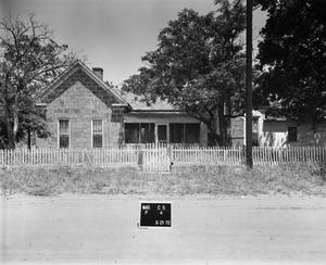 Primary view of object titled '[Kothmann House, (West elevation)]'.