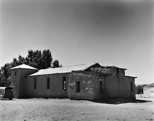 Primary view of object titled '[Ruidosa Church]'.