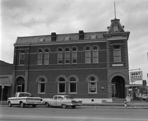 Primary view of object titled '[Old Bay City Bank]'.