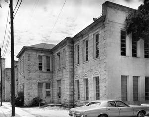 Primary view of object titled '[(Old) Tivy High School, (Northeast elevation)]'.