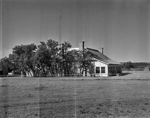 Primary view of object titled '[John Larn House, (West facade)]'.