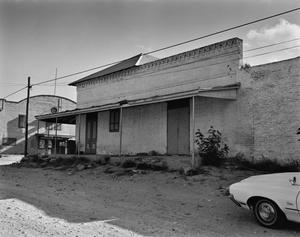 Primary view of object titled '[Cesar Salinas House, (Southwest view)]'.