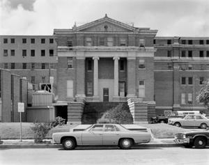 Primary view of object titled '[Old Nueces County Courthouse, (North elevation)]'.