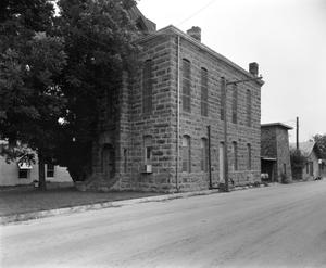 Primary view of object titled '[City Jail, (Northwest oblique)]'.