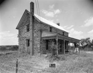 Primary view of object titled '[Old Andreig House, (East oblique)]'.
