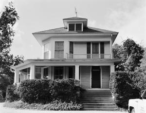 Primary view of object titled '[W.H. Eddleman House, (East elevation)]'.
