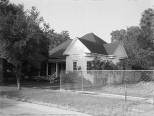 Primary view of object titled '[Collins House, (East elevation)]'.