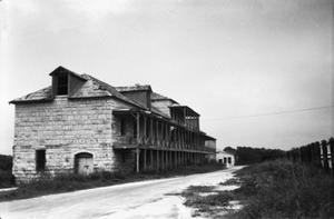 Primary view of object titled '[Fort Clark Commissary]'.